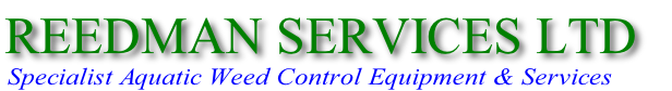 Specialist Aquatic Weed Control Equipment & Services