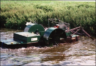 reedman services weed cutting boats